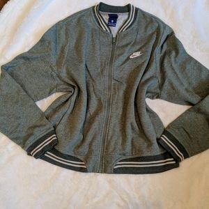 Nike zip up sweatshirt jacket